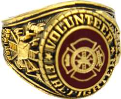 Volunteer Fighterfighter Rings