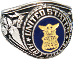 USAF Air Force Rings, Military