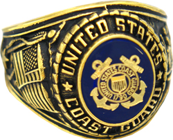 US Coast Guard Rings, Military