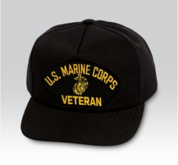 USMC Veteran Military Ball Caps
