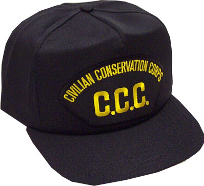 Cilvilian Conservation Corps Military Ball Caps