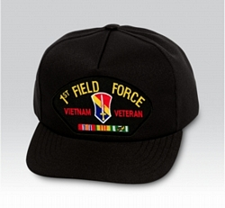1st Field Force Vietnam Veteran Military Ball Caps