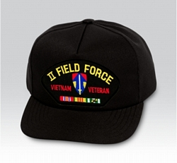 2nd Field Force Vietnam Veteran Military Ball Caps
