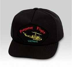 Frequent Flyer (Vietnam) Military Ball Caps