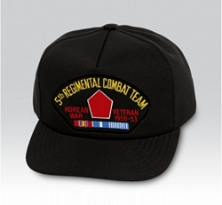 5th Regimental Combat Team Korean Veteran Military Ball Caps