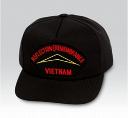 Reflection & Remembrance Vietnam Military Ball Caps