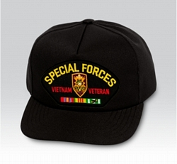 Special Forces MACV SOG Vietnam Veteran Military Ball Caps