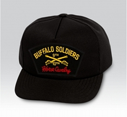 Buffalo Soldiers Military Ball Caps