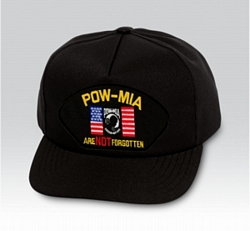 POW/MIA Are Not Forgotten Military Ball Caps