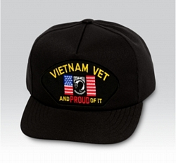 Vietnam Vet Military Ball Caps