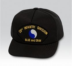 29th Infantry Division Military Ball Caps