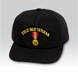 Cold War Veteran Military Ball Caps