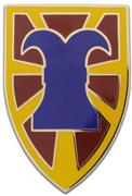 7th Sustainment Brigade Combat Service ID Badges