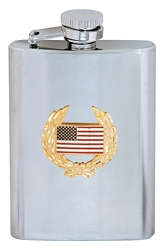 USA Flag Flasks (8oz)