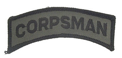 Corpsman Tab Patches