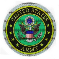 Holograhpic Military Decals US Army