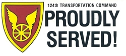 124th Transportation Command Bumper Stickers