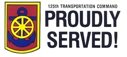 125th Transportation Command Bumper Stickers