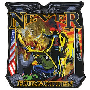 "Never Forgotten Back Patches (5"")"