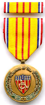 Vietnam War Disabled Veteran Commemorative Medals