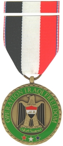 Operation Iraqi Freedom Commemorative Medals