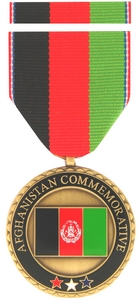 Afghanistan Commemorative Medals