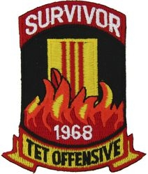 Vietnam Survivor Tet Patches