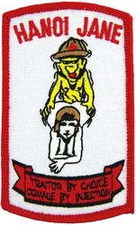 Hanoi Jane Traitor Patches