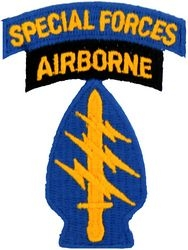 5th Special Forces Airborne Patches