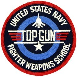 US Navy Top Gun Patches