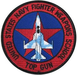 USN Fighter Weapons School Patches