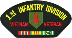 1st Infantry Division Vietnam Veteran Patches
