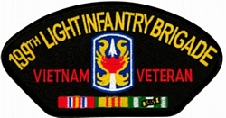199th Infantry Brigade Vietnam Veteran Patches