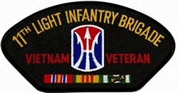11th Light Infantry Brigade Patches