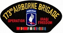 173rd Airborne Brigade Iraqi Freedom Patches
