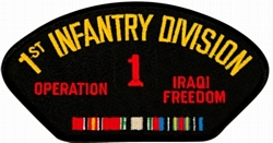 1st Infantry Division Iraqi Freedom Patches