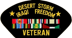 Desert Storm Iraqi Freedom Patches