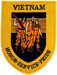 Vietnam Honor Service Pride Patches