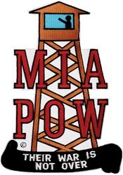 POW/MIA Tower Back Patches