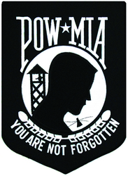 "POW/MIA Back Patches (8"")"