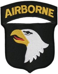 101st Airborne Division Back Patches