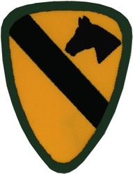 1st Cavalry Division Back Patches