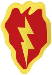 25th Infantry Division Back Patches