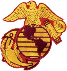 US Marines Seal Back Patches