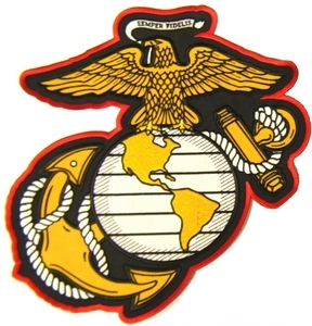 US Marines Back Patches