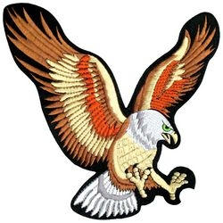 Eagle Back Patches
