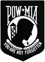 "POW/MIA Back Patches (12"")"