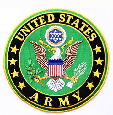 US Army Back Patches