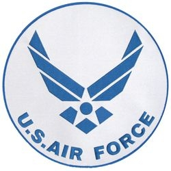 US Air Force Back Patches