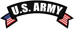 US Army Rocker Back Patches